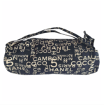 Chanel beach towel with matching bag