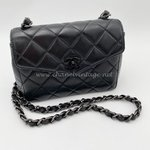 Chanel SoBlack mini square Vintage