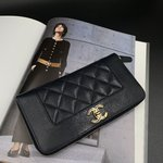 Chanel Mademoiselle Vintage Zipped Wallet